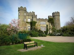 Malahide Castle, Malahide, Co. Dublin – built 1185, enlarged 1470.   Ireland