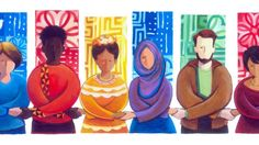 Martin Luther #King_Jr. Day #Googledoodle promotes King's message of unity