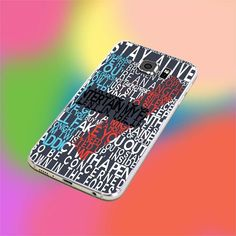 TWEENTY ONE PILOTS LYRICS for iPhone and samsung galaxy case hard plastic