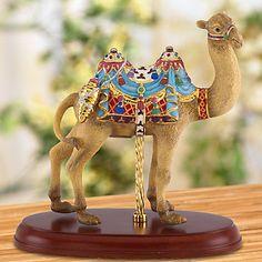 Carousel Statues:  LENOX Figurines: Carousels & Unicorns - Camel Carousel Figurine