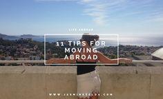 11 Tips For Moving Abroad - Jasmine Zelda