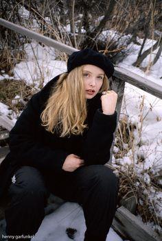 Julie Delpy (1994); Photo by Henny Garfunkel