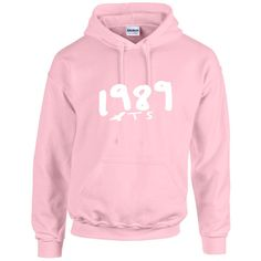 Taylor Swift Inspired 1989 Seagull Pullover Hoodie Light Pink ($33) ❤ liked on Polyvore featuring tops, hoodies, pink, pullovers, sweaters, women's clothing, pink pullover, hooded pullover, hoodie pullover и unisex hoodies