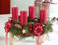 Florale Kranzidee für den Advent :: BLOOM's