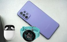 Sorteio de um Galaxy A52 5G, Garmin Forerunner 55 e Pixel Buds A Smartwatch, Smartphone, Samsung Galaxy, Bud, Prize Draw, Smart Watch, Gem, Eyes, Knob