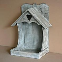 shabby chic bird feeder