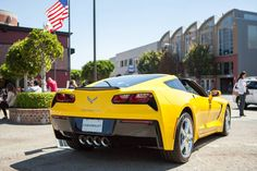 2014 Made in America Stingray Corvette Yellow and Proud.