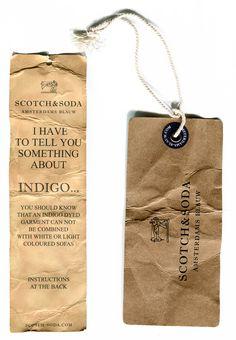 Scotch & Soda jeans tags
