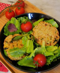 Galettes quinoa et courgette