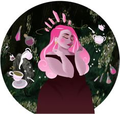 """orriculum: """"i have something to confess to you guys –i've always wanted to eat the stars. they're not as cold and sweet as i thought, so i settled for frappuccinos. (self portrait that turned into a witchsona.) """""""