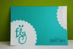 Fly, fly so high! Have A Great Day, Card Ideas, Crafting, Table, Handmade, Cards, Craft, Artesanato, Crafts