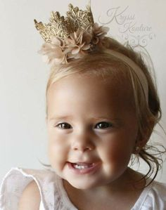 Every princess needs a crown, right? This crown will make a statement at her…
