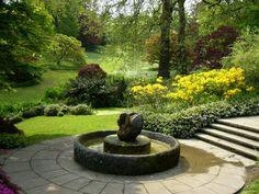 Wharton's niece Beatrix Farrand designed this garden in Devon England