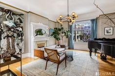 Designer remodel of a Cole Valley Victorian $3,200,000.