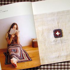 Yarning: My new Japanese crochet book!