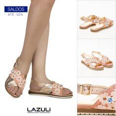 🔹 ÚLTIMOS SALDOS 🔹  #lazuli #portugueseinspiration #lazulishoes #sale #saldos #descontos #shoes #shoelover #footwear  #shoponline #shopping #shoponline Lazuli, Spring Summer, Sandals, Shoes, Fashion, Moda, Shoe, Shoes Outlet, Fasion