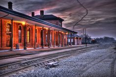 Train Station ~ Jackson, Michigan