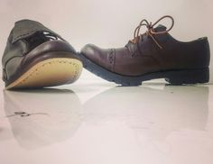 #williamlennon hill shoes. Leather and commando sole. Fully sprung toe box lift in all its glory.