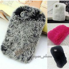 Love this furry ball phone cases:
