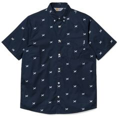 Carhartt WIP S/S Aldux Shirt http://shop.carhartt-wip.com:80/gb/men/shirts/shortsleeve/I014241/ss-aldux-shirt
