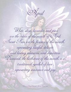 April~ Birthstone Fairies by Jennifer Galasso