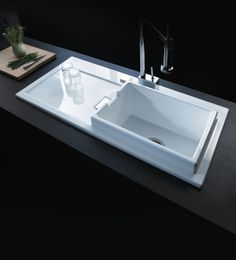 Duravit - design series: Starck K - kitchen sink www.kentyapi.com