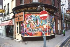 Groove records London, buying records in the early eighties...