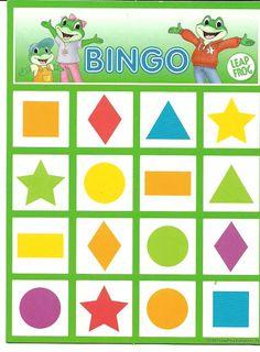 bingo met vormen