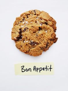 Salty Chocolate Chunk Cookies from Bon Appétit, by Alison Roman