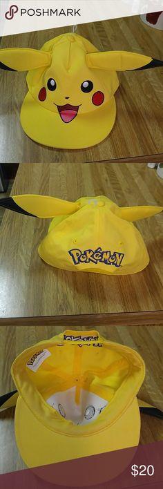 Price Drop ++ All Pikachu Lovers ++Cap ++ NWOT Pokemon the newest CRAZE!!! Accessories Hats