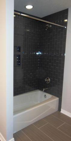 36 - Bathroom Inspiration | Michael David Design Center | #interiordesign #bathroom #tiledesign #luxuryhome #guestbath #shower #dreamhome #custom #subwaytile