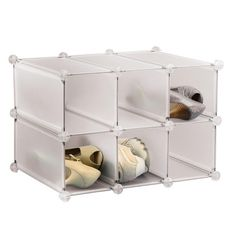 The Container Store > 6-Section Modular Shoe Organizer