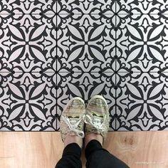 Island Dreams Tile Stencil - Large Tile Stencil for Painting Floors – Modern Floor Stencil Design – Royal Design Studio Stencils - Damask Wall Stencils, Moroccan Wall Stencils, Geometric Stencil, Large Wall Stencil, Wall Stencil Patterns, Stencil Fabric, Wallpaper Stencil, Stencil Designs, Tile Stencils