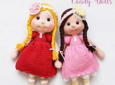 Amigurumi Candy Doll