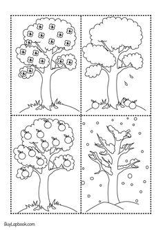 Apple Life Cycle Coloring Pages Seasons Kindergarten, Subtraction Kindergarten, Numbers Kindergarten, Kindergarten Activities, Printable Preschool Worksheets, Free Kindergarten Worksheets, Letter B Worksheets, Family Tree Worksheet, Apple Life Cycle