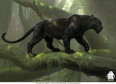 The Jungle Book: Bagheera concept by michaelkutsche on DeviantArt