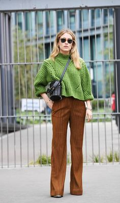 a083dd996 How to Style the Retro Pants That Are Coming Back