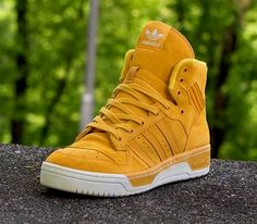 "adidas Originals Rivalry High ""Gold Suede"""