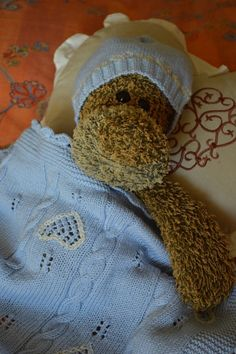 Completo neonato copertina/cappellino