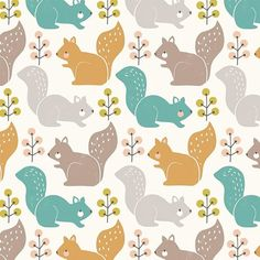 Harvestwood is an autumnal inspired fabric collection designed by Wendy Kendall for Dashwood Studios. Squirrel is a cotton quilting weight fabric sold in quarter metre units measuring by For a full metre of fabric measuring Studio Weave, Studios, Pink Sale, Woodland Critters, Quilt Material, Table Flowers, Little Birds, Dressmaking, Autumn Leaves