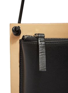 Building Block Leather Frame Bag | LN-CC