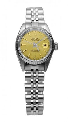 Rolex date just watch lady dial rolex SS jubilee datejust - Watches.