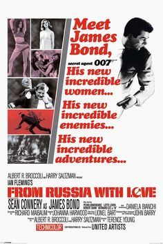 James Bond Poster Art | Posters > Movie posters > James Bond 007 > James Bond > JAMES BOND 007 ...
