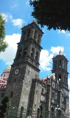 Arquitectura estilo barroco Puebla, México by Veronica Abad