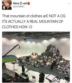 That's enough clothes to open up a thrift store