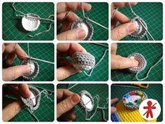 Amigurumi minions Stuart, paso a paso en español Minion Crochet Patterns, Minion Pattern, Crochet Flower Patterns, Amigurumi Patterns, Amigurumi Doll, Minions Eyes, Minions Bob, Lion Crochet, Crochet Monsters