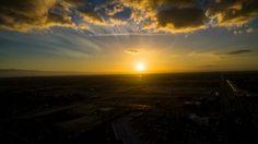 Flight at Sunset Bakersfield