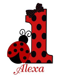 Ladybug Birthday T Shirt or Onesie by CutiesTieDyeBoutique on Etsy, $18.00