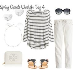 OOTD 4.4.15 Spring Capsule Wardrobe