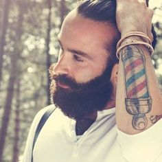 Barber Ink : ... Barbershop Ink on Pinterest Barber tattoo, Barbers and Barbers pole